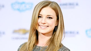 Emily VanCamp's Perfectly Smooth Hair at the Captain America Premiere: Get the Look