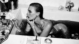 January Jones Poses Nude in Tub, Wants To Go To Bed with Rihanna: See the Sexy Pictures