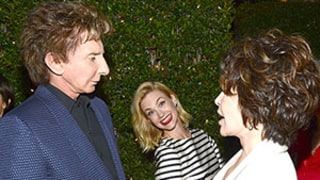 January Jones Photobombs Barry Manilow and Carole Bayer Sager in Hollywood: Hilarious Picture!