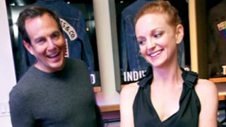 Will Arnett and Jayma Mays Celebrate