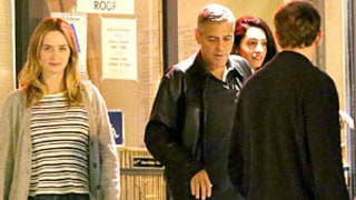 Emily Blunt, John Krasinski Double Date With George Clooney, Amal Alamuddin: Pictures