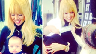 Rachel Zoe Shares Cute New Pictures of Sons Kaius, 3 Months, and Skyler, 3
