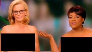 Jenny McCarthy, Sherri Shepherd Go Topless on The View, Mimic Girls' Lena Dunham