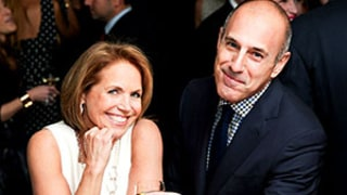 Matt Lauer, Katie Couric Reunite at New York Observer Event: Picture