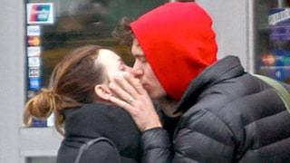 Adam Brody Plants Kiss on Wife Leighton Meester in NYC: Newlywed Picture