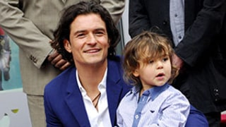 Orlando Bloom's Son Flynn Steals the Show at Walk of Fame Unveiling: Pics