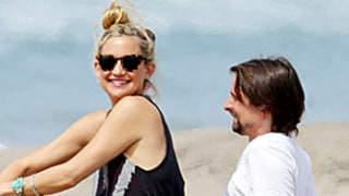 Kate Hudson, Matthew Bellamy Cuddle on the Beach: Muse Rocker Grabs Her Butt
