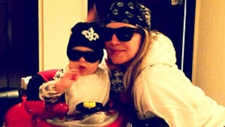 Fergie and Baby Son Axl Play Dress-Up: See the Cute Picture!