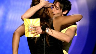 Queen Latifah and Adrien Brody