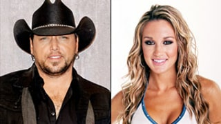 Jason Aldean, Former Mistress Brittany Kerr Grab Dinner After 2014 Academy of Country Music Awards