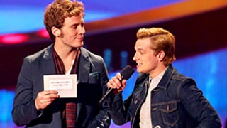 Josh Hutcherson Honors Late Hunger Games Costar Philip Seymour Hoffman at 2014 MTV Movie Awards