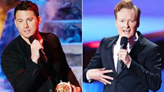 Conan O'Brien Cuts Off Channing Tatum's Speech With Dick Pic at MTV Movie Awards