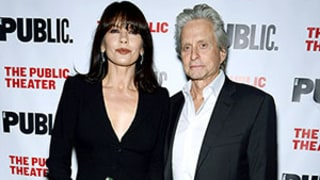 Catherine Zeta-Jones and Michael Douglas Walk First Red Carpet Together Since Separating in August 2013