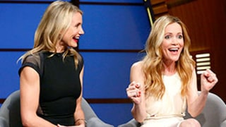 Leslie Mann, Cameron Diaz Drew Mustache on The Other Woman Costar Kate Upton