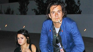Selena Gomez, Orlando Bloom Hang Out at Chelsea Handler's Show: Picture