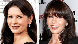 Catherine Zeta-Jones Ditches Bangs on Red Carpet: Better With or Without Fringe?
