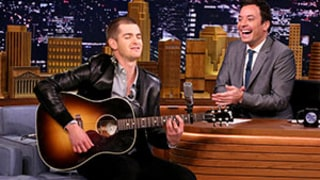 Andrew Garfield Sings Spider-Man Theme Song on The Tonight Show With Jimmy Fallon