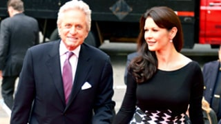 Michael Douglas and Catherine Zeta-Jones Hold Hands on the Red Carpet