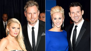 Jessica Simpson, Tony Romo Didn't Interact at White House Correspondents' Dinner