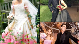 Celebrity Brides Who Don't Wear White