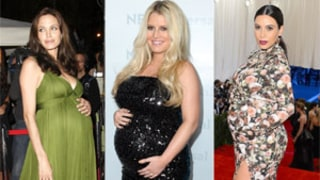 Famous Celebrity Pregnancies: Baby Bump Hall of Fame