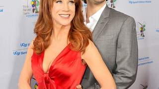 Kathy Griffin and Josh Groban