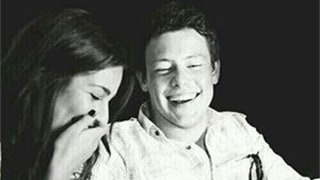 Lea Michele Tweets Adorable Photo of Cory Monteith on His Birthday