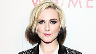 Evan Rachel Wood Rocks Two-Tone Hair While Performing: See the Pictures
