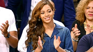 Beyonce Wears Chambray Jumpsuit to Nets Game After Solange News Hits: Get the Look