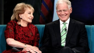 Barbara Walters, David Letterman Make Joke Suicide Pact:
