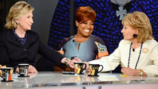 Barbara Walters' Last Day on The View Features Surprise Visits From Hillary Clinton, Oprah Winfrey