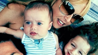 Rachel Zoe Shares Family Photo With Sons Kaius, 5 Months, and Skyler, 3, Husband Roger Berman