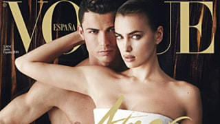 Cristiano Ronaldo Naked on the Cover of Vogue Spain with Girlfriend Irina Shayk: Picture