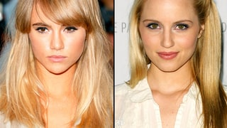 Suki Waterhouse and Dianna Agron