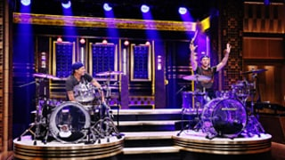 Will Ferrell, Red Hot Chili Peppers' Chad Smith Hold Drum-Off on The Tonight Show With Jimmy Fallon