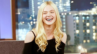 Elle Fanning Tells Jimmy Kimmel About Her Wild Promposal Story: WATCH