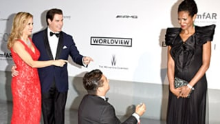 John Travolta, Kelly Preston Help Friend Oscar Generale Propose to Denny Méndez at Cannes Film Festival: Picture