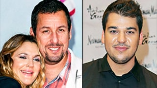 Drew Barrymore, Adam Sandler Reveal Whether They've Hooked Up, Rob Kardashian Emerges in Paris: Top 5 Friday Stories