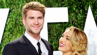 Liam Hemsworth Joins Miley Cyrus and Family for Christmas Celebrations