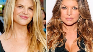 Kirstie Alley and Fergie
