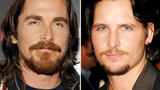 Christian Bale and Peter Facinelli
