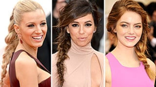 Blake Lively, Eva Longoria, Emma Stone Wear Braided Ponytail Trend: How to Copy the Hairstyle