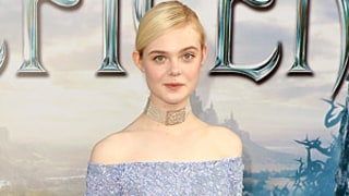 Elle Fanning Dresses as Sleeping Beauty for Maleficent Premiere: See the Blue Ball Gown!