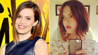 Mandy Moore, Minka Kelly Haircuts: BFFs Show Off Matching Long Bobs: Pictures