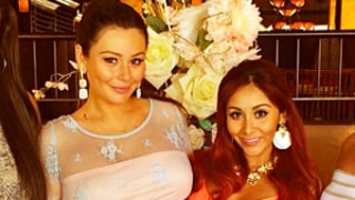 Snooki, Pregnant BFF JWoww Reunite With Jersey Shore Costars at Baby Shower: Picture