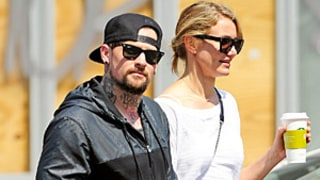 Cameron Diaz and Benji Madden Hold Hands During
