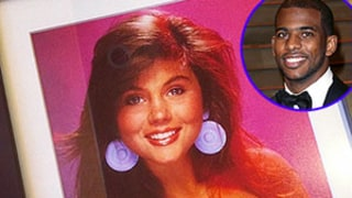 Tiffani Thiessen Gives Clippers' Chris Paul Vintage Signed Kelly Kapowski Headshot Photo for His Birthday