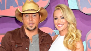 Jason Aldean, Former Mistress Brittany Kerr Walk First Red Carpet Together at CMT Music Awards: Picture
