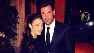 Maksim Chmerkovskiy, Meryl Davis Reunite After Dancing With the Stars Win: Picture