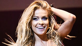 Carmen Electra Bares Her Bod in Bejeweled Bra, PVC Hot Pants: Pictures